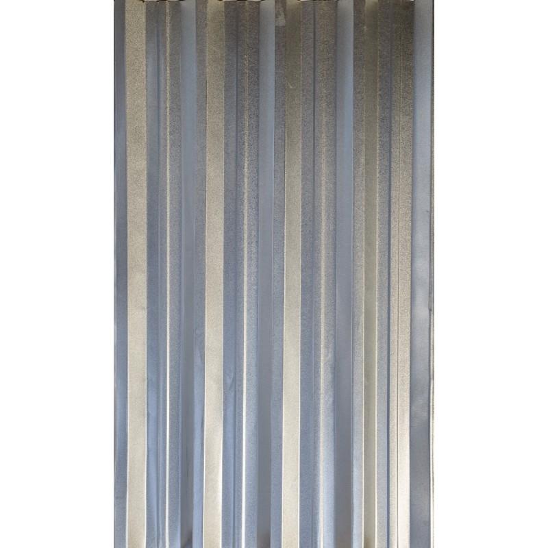 T55 Tablă cutată Zn - 1,25 x 2 m