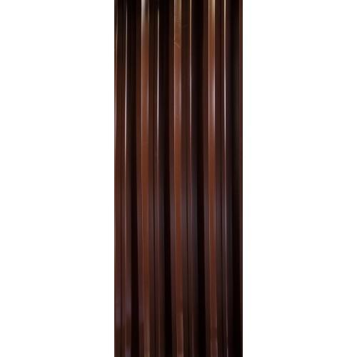 T55 Tablă cutată colorată - 1,05 (util 1 m)