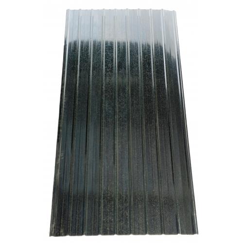 T10 Tablă cutată Zn 0,9 x 2 m