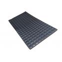 Tablă fagure neagră 1 x 2 m