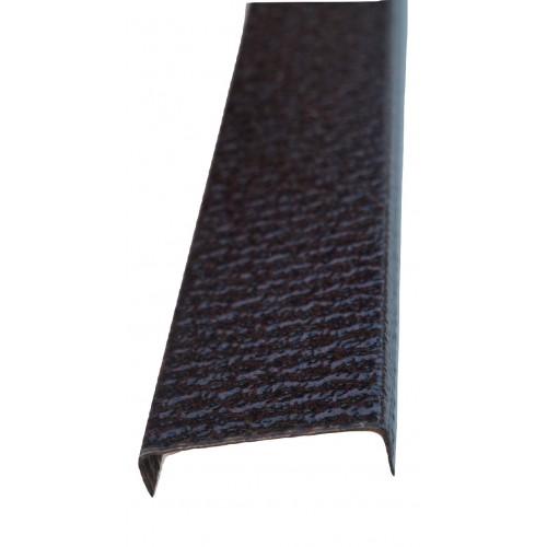 Profil U pentru gard imitaţie cupru antic