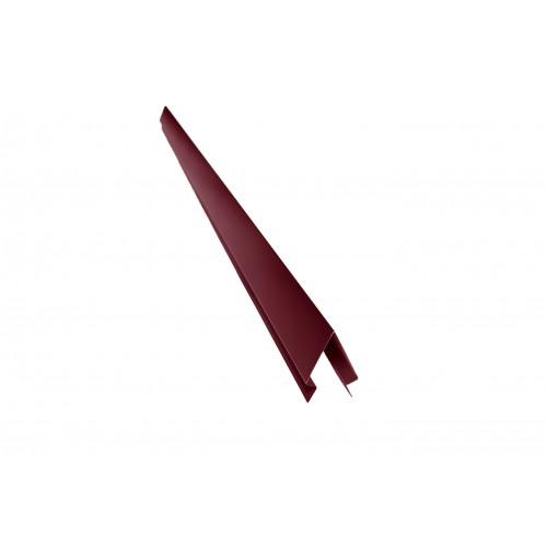 Coamă gard color lucioasă 0,30 mm