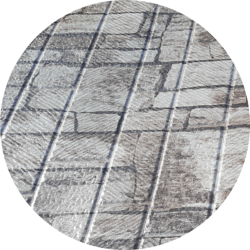 Tablă tip cărămidă aparentă imitație lemn 1,25 x 2 m