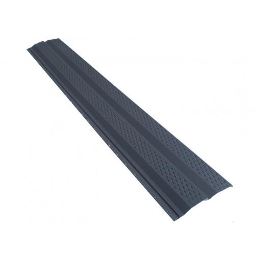 Lambriu metalic color mat perforat 0,50 mm