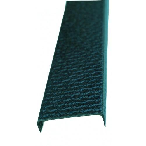 Profil U pentru gard imitaţie verde antic