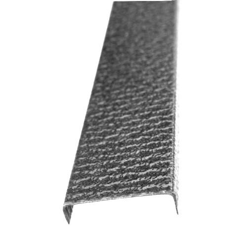 Profil U pentru gard imitaţie argint antic
