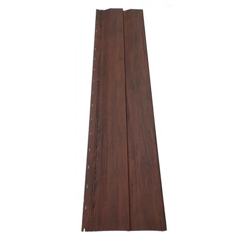 Lambriu metalic imitaţie lemn 0,50