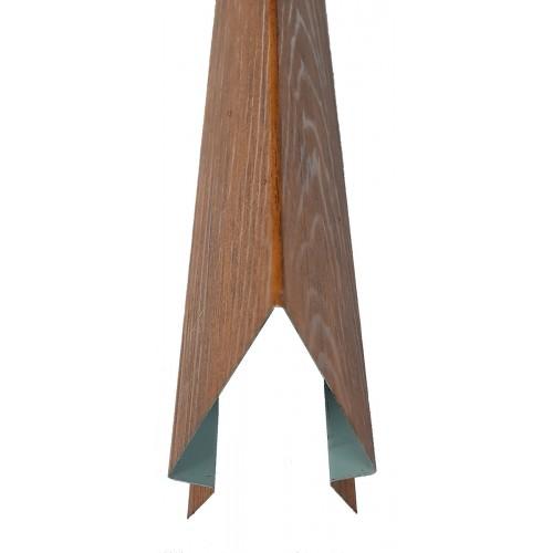 Coamă gard color imitație lemn