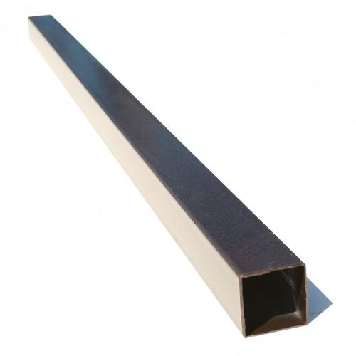 Stâlp pătrat de gărd imitaţie cupru antic 80x80