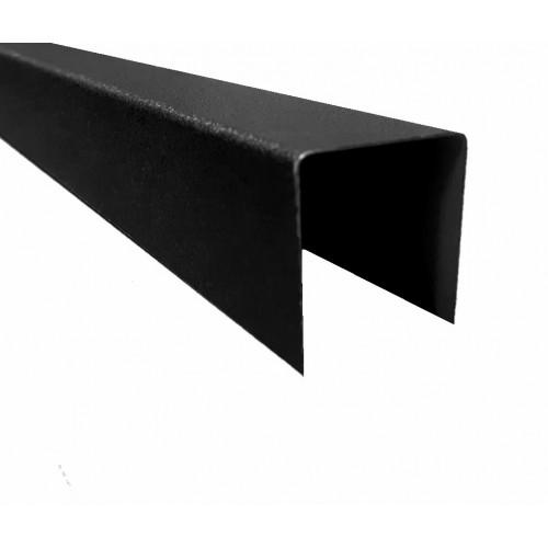 Profil U Modern Plus 0,5 mm Mat Ral 9005 - Negru