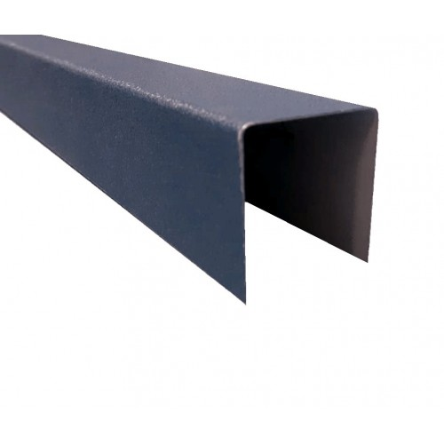 Profil U Modern Plus 0,5 mm Mat Ral 7024 - Gri antracit