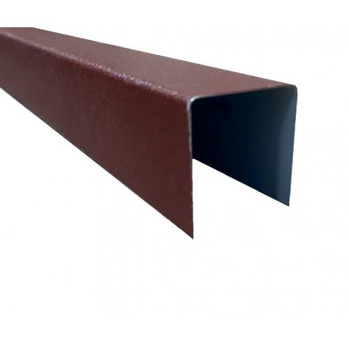 Profil U Modern Plus 0,5 mm Mat Ral 8017 - Maro roșcat