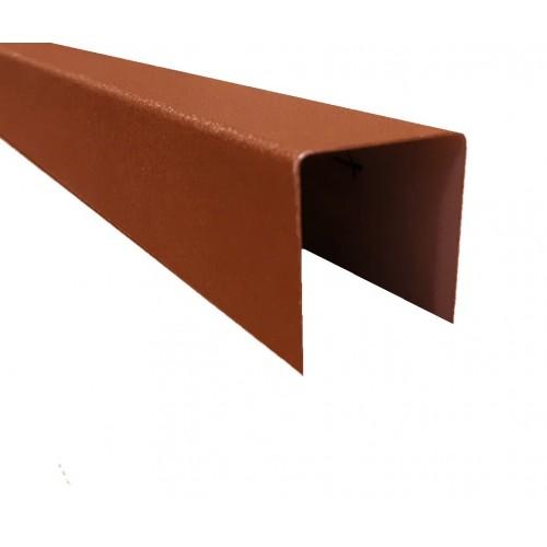 Profil U Modern Plus 0,5 mm Mat Ral 8004 - Cărămiziu