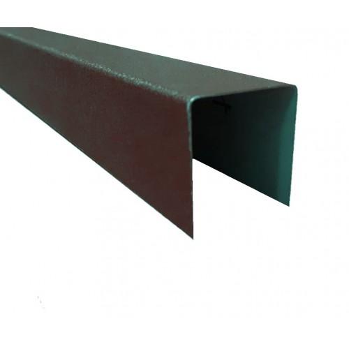 Profil U Modern Plus 0,5 mm Mat Ral 8019 - Maro mat
