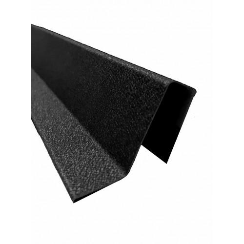 Coamă gard Modern Plus 0,50 mm Mat Ral 9005 - Negru