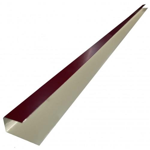 Profil îmbinare lambriu metalic lucios 0,50 mm
