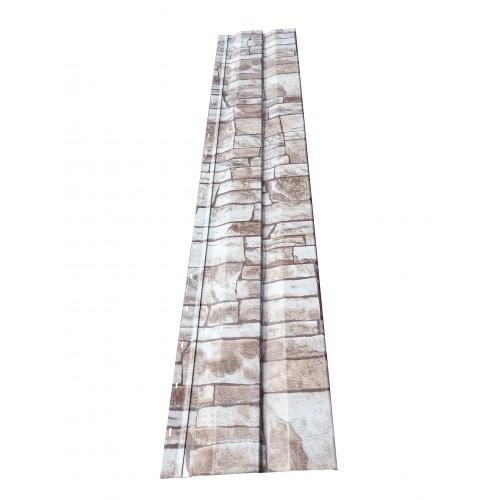 Lambriu metalic imitaţie piatră 0,50