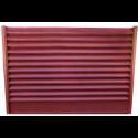 Panou gard tip jaluzea color 0,55 m Vișiniu ( Ral 3005)
