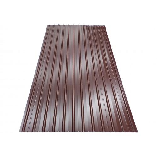T10 Tablă cutată colorată 0,9 x 2 m