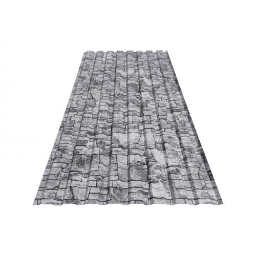 T18 Tablă cutată imitație piatră