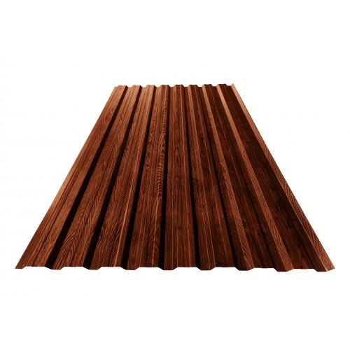 T20 Tablă cutată imitație lemn