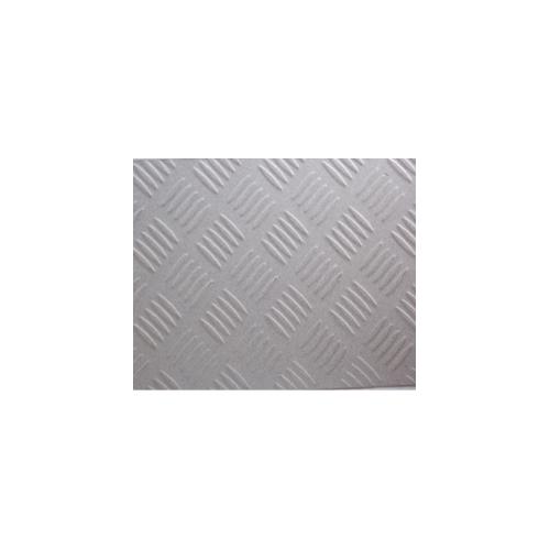 Tablă striată zincată 1 x 2 m