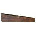 Elemente pentru gard cu ștacheți orizontali imitație lemn