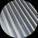 Tablă cutată T18 Zincată