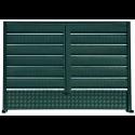 Gard tip Anticco Imitație verde antic