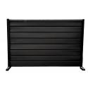 Gard cu profil Modern Plus Mat Ral 9005 - Negru