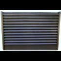 Gard tip jaluzea color 0,55 mm Maro Brun ( Ral 8019)