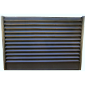 Panou gard tip jaluzea color 0,55 mm Maro Brun ( Ral 8019)